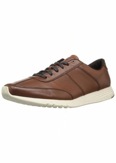 Cole Haan Men's Grand Crosscourt Runner Sneaker British tan  M US