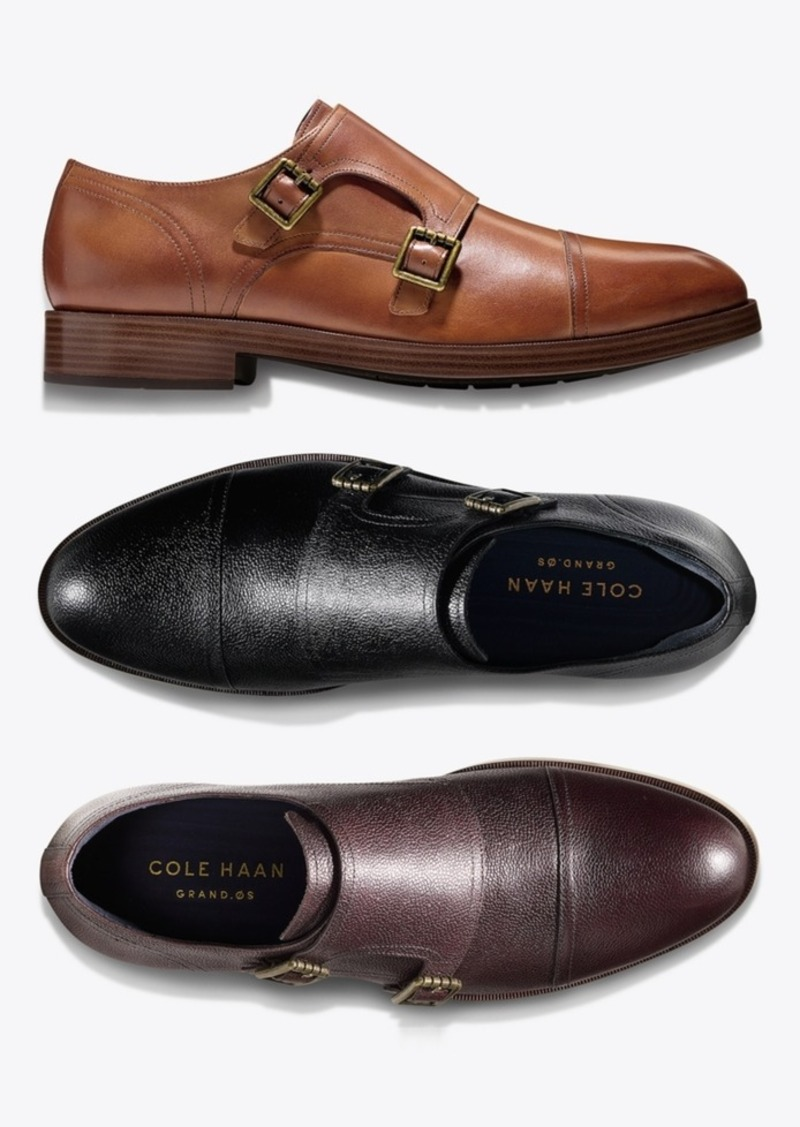 acc3f2eb09a Cole Haan Men s Henry Grand Double-Monk Strap Oxfords Created for Macy s Men s  Shoes