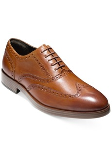 Cole Haan Men's Henry Grand Short Wing-Tip Oxfords Men's Shoes