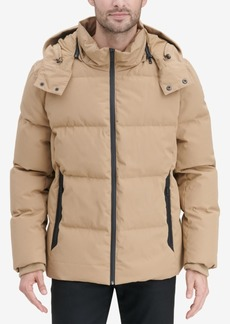 Cole Haan Men's Kenny Puffer Parka Jacket
