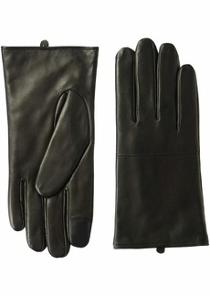 Cole Haan Men's Lambskin Leather Glove with Horizontal Point  L