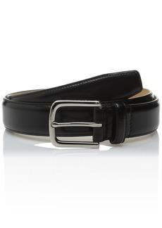 Cole Haan Men's Leather Belt Black Nickel III