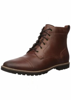 Cole Haan Men's Nathan Cap Boot:Chestnut Fashion Boot   M US