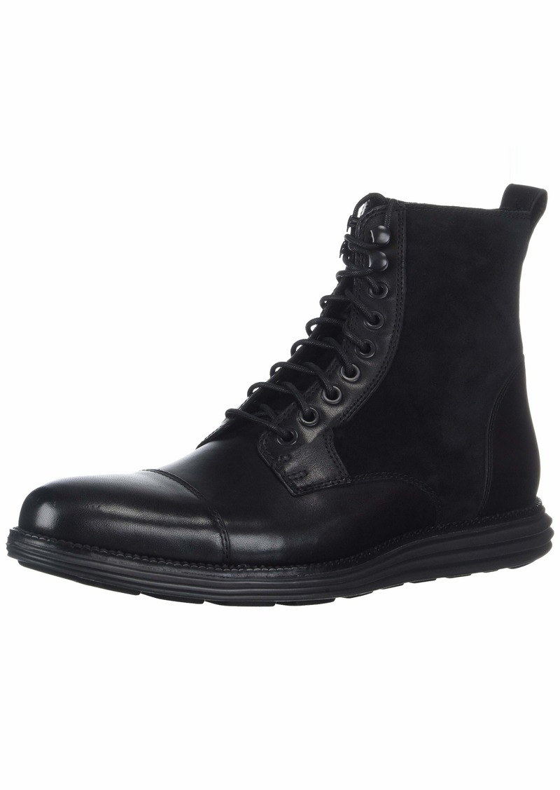 Cole Haan Men's Original Grand Cap Toe Boot II Fashion Black  M US
