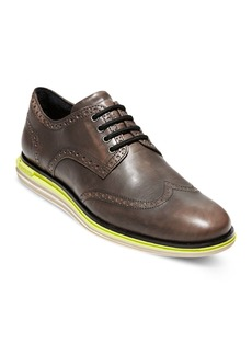 Cole Haan Men's Original Grand Wingtip Leather Oxfords