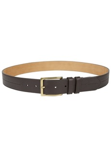 Cole Haan Men's Pebble-Leather Belt