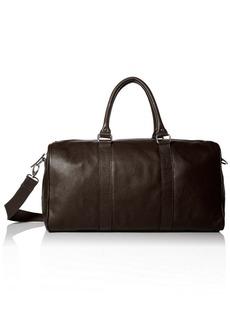 Cole Haan Men's Pebble-Leather Duffle Bag