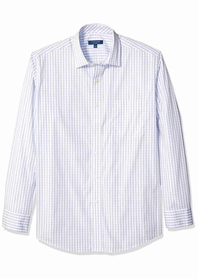 Cole Haan Men's Performance Stretch Long Sleeve Buttondown Shirt  L