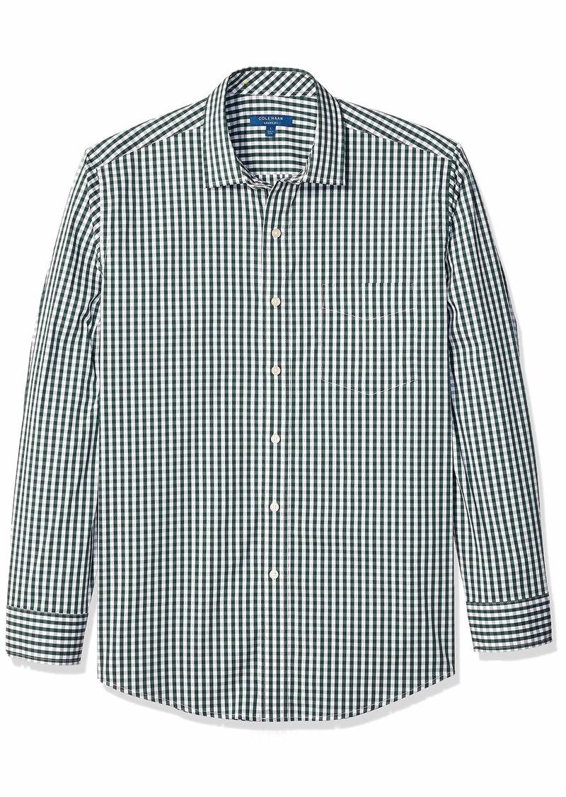 Cole Haan Men's Performance Stretch Long Sleeve Buttondown Shirt  XL