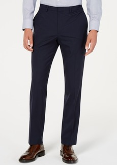 Cole Haan Men's Grand. os Wearable Technology Slim-Fit Stretch Grid Pants