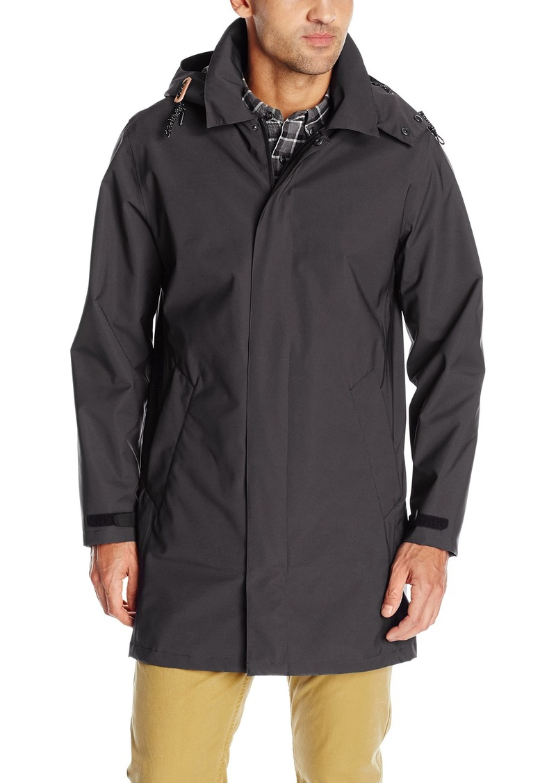Cole Haan Men's Softshell Topper Jacket with Removable Hood