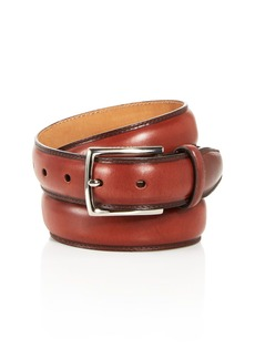 Cole Haan Men's Topstitch Leather Belt