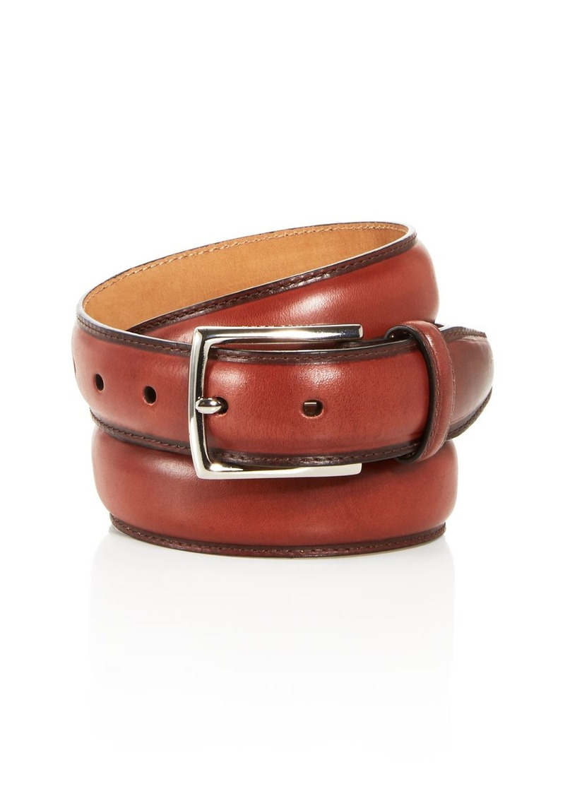 Cole Haan Men's Topstitch Leather Belt