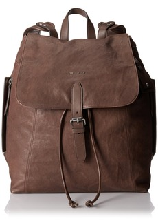 Cole Haan Men's Washed Leather Backpack