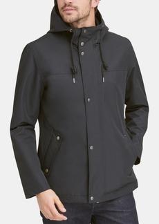 Cole Haan Men's Water-Resistant Rain Coat