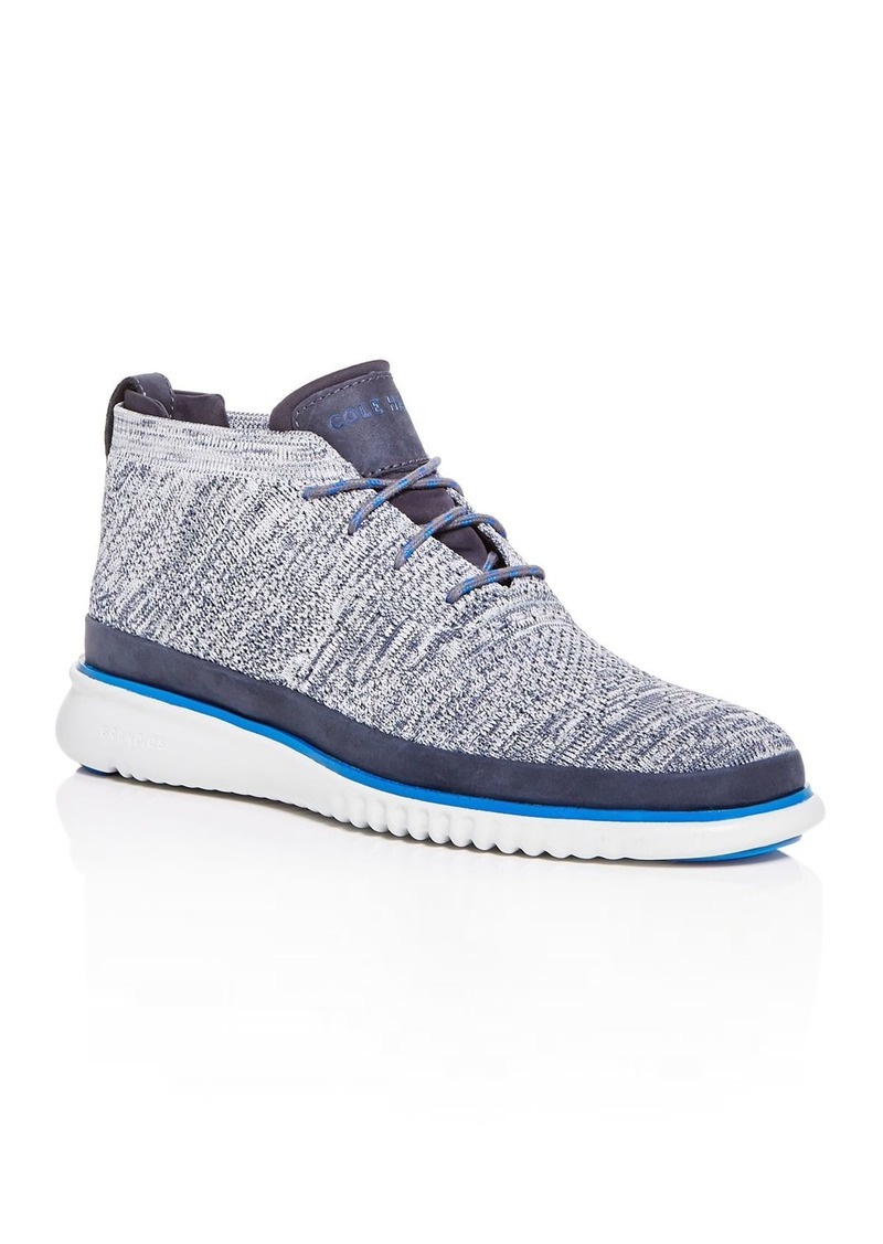 Cole Haan Men's Zerogrand Stitchlite Knit Mid-Top Sneakers