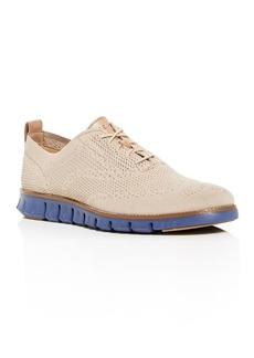 Cole Haan Men's Zerogrand Stitchlite Knit Plain Toe Oxfords