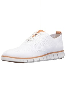 Cole Haan Men's Zerogrand Stitchlite OX Sneaker Optic Knit/White  M US