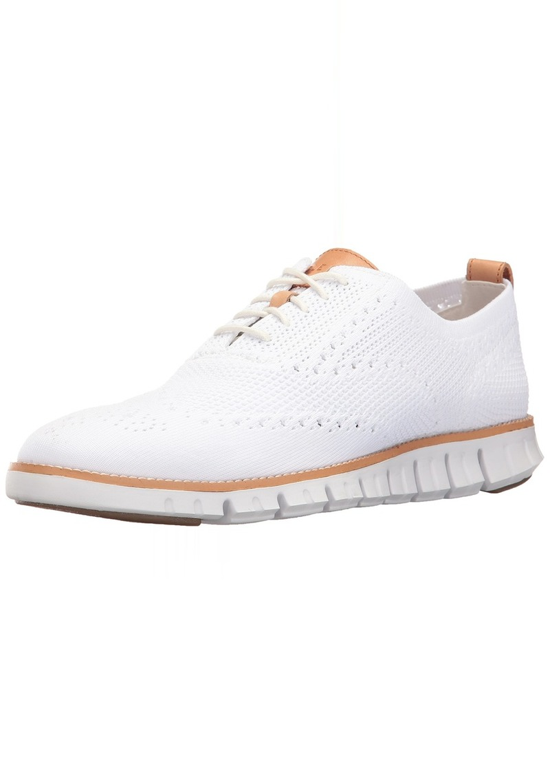Cole Haan Men's Zerogrand Stitchlite OX Sneaker Optic Knit/White  M US