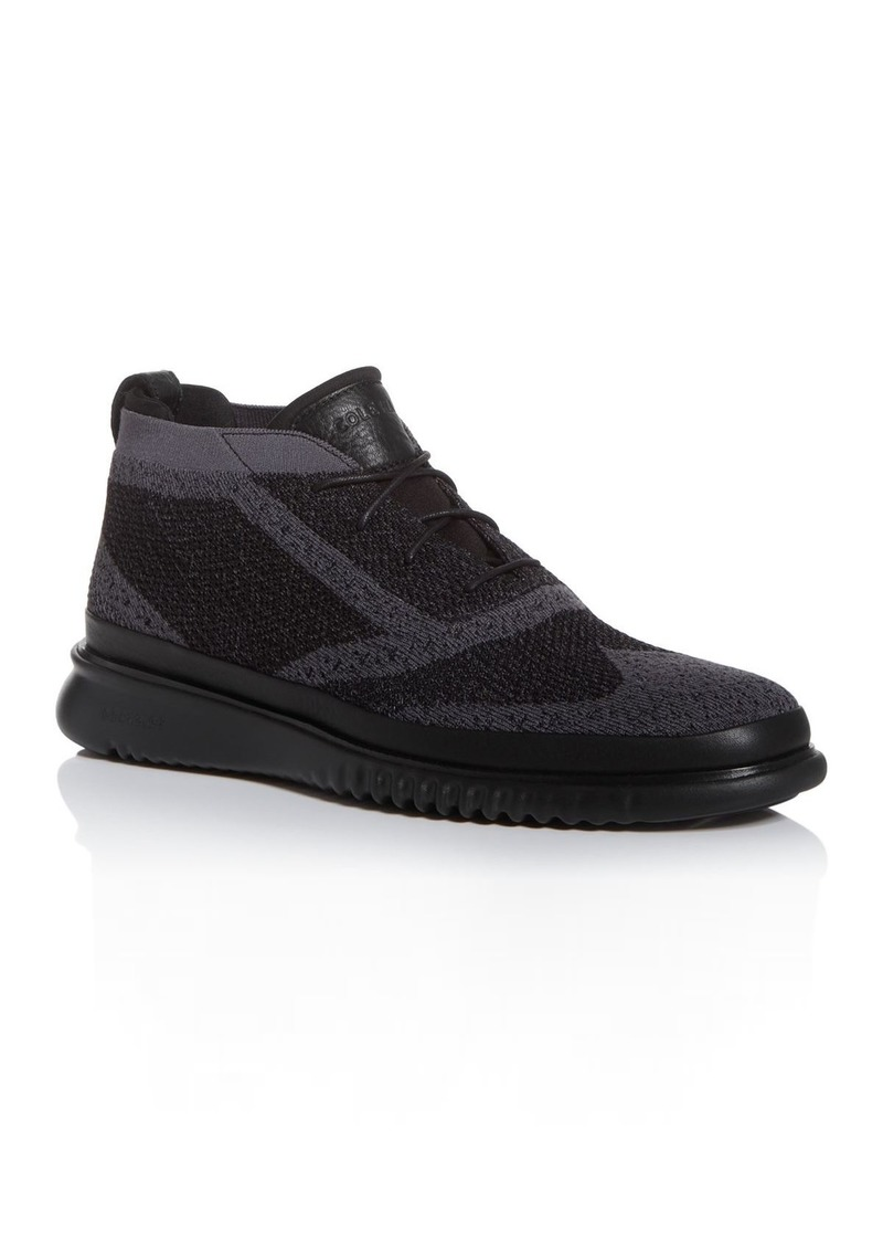 Cole Haan Men's Zerogrand Stitchlite Waterproof Chukka Boots
