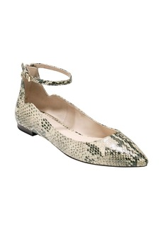 Cole Haan Millicent Ankle Strap Skimmer Flat (Women)