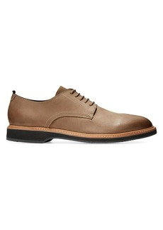 Cole Haan Morris Plain-Toe Leather Oxfords