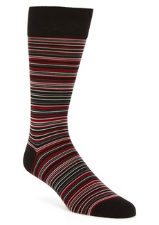Cole Haan Multistripe Crew Socks