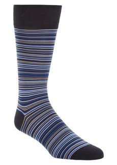 Cole Haan Multistripe Crew Socks (3 for $30)