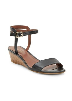 Cole Haan Open-Toe Ankle-Buckle Wedge Sandals