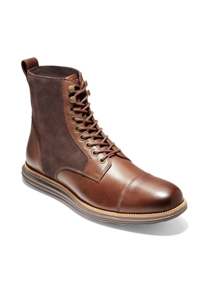 Cole Haan Original Grand Cap Toe II Leather Boots