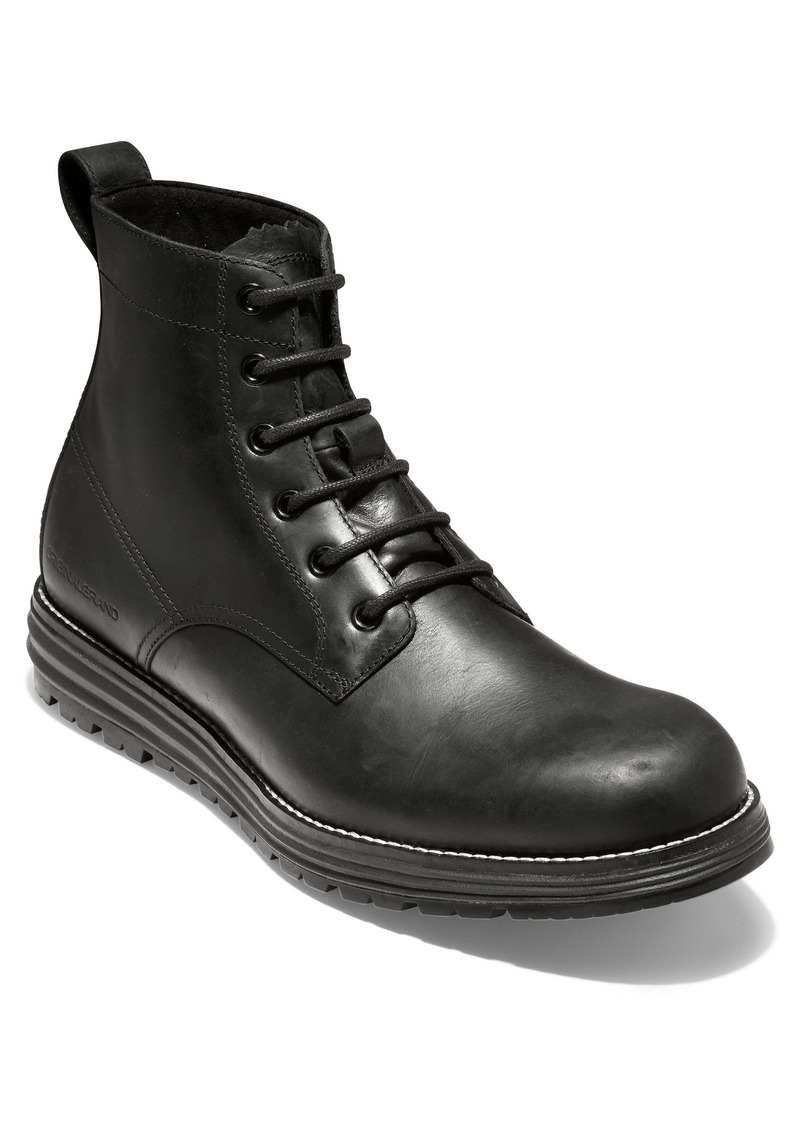 Cole Haan Original Grand Waterproof Plain Toe Boot (Men)