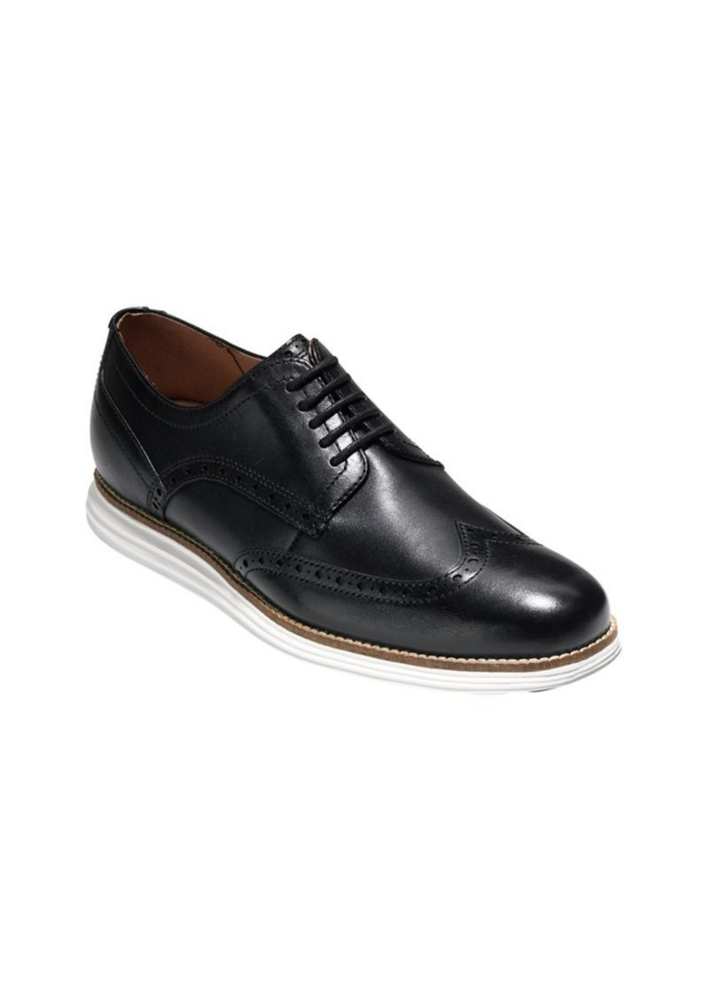 6dd8786a1e9045 Cole Haan Cole Haan Original Grand Shortwing Leather Oxfords