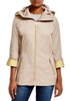 Cole Haan Packable Double Faced Rain Jacket