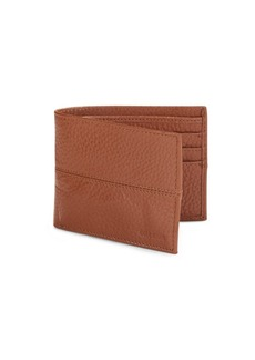 Cole Haan Pebbled Leather Billfold Wallet