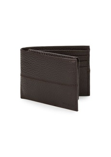 Cole Haan Pebbled Leather Passcase Wallet