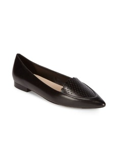 Cole Haan Perforated Point Toe Flats