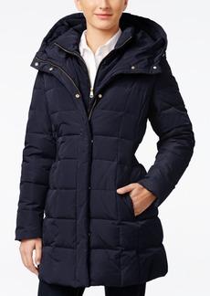 Cole Haan Petite Hooded Down Puffer Coat