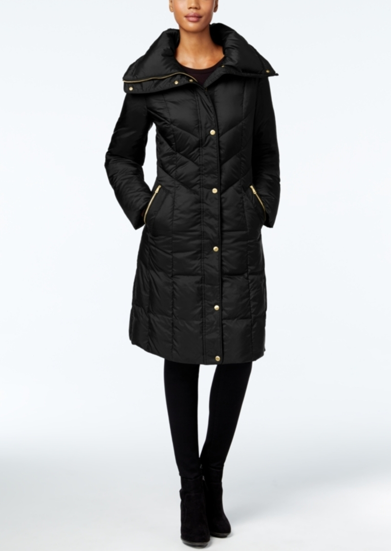 Cole Haan Pillow-Collar Down Puffer Coat