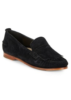Pinch Grand Moc-Toe Suede Loafers