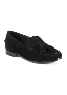 Cole Haan Pinch Grand Suede Tasseled Loafers