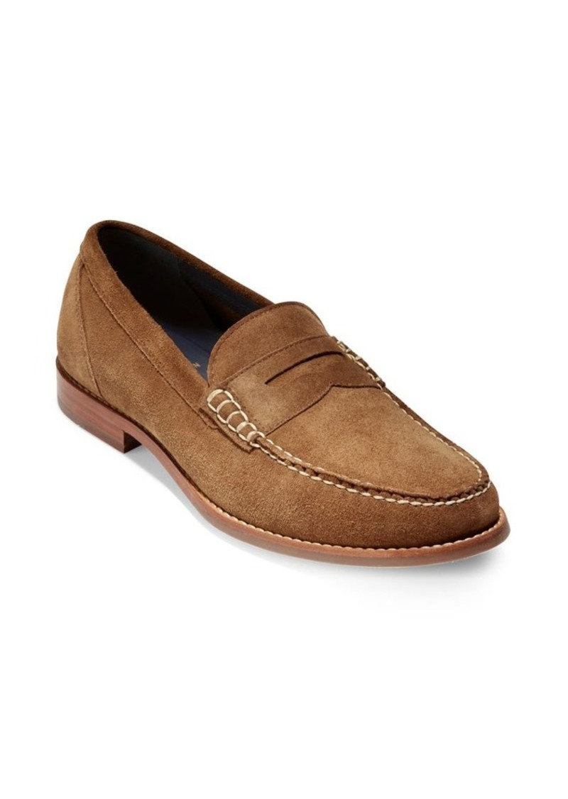 e9977d1ef48 Cole Haan Cole Haan Pinch Grand.OS Suede Penny Loafers