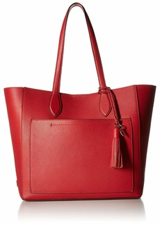 Cole Haan Piper Leather Tote barbados cherry