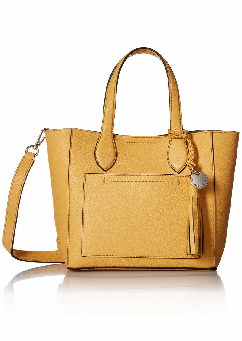 Cole Haan Piper Mini Tote Leather Crossbody sunset gold