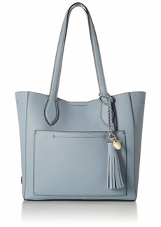 Cole Haan Piper Small Leather Tote zen blue