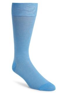 Cole Haan Piqué Texture Crew Socks