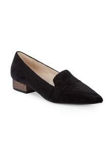 Cole Haan Point Toe Velvet Pumps