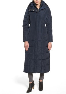 Cole Haan Quilted Coat with Inner Bib