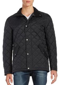 Cole Haan Quilted Fleece Jacket