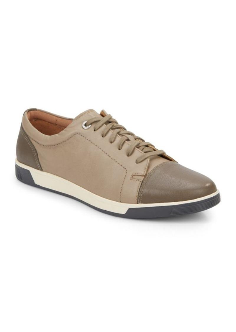 Cole Haan Quincy Cap-Toe Leather Sneakers