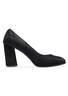 Renner Suede Pumps